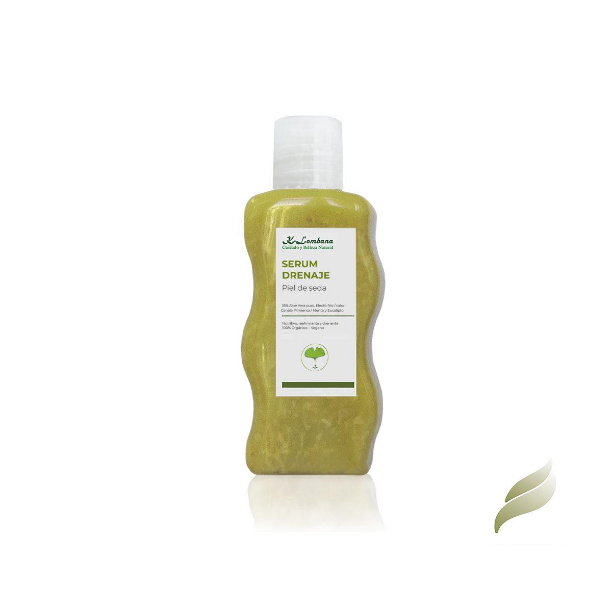 serum-drenaje-piel-seda. muy nutritivo, reafirmante y drenante. Activa la circulación! Aloe Vera puro. aceite esencial- efecto frío y calor