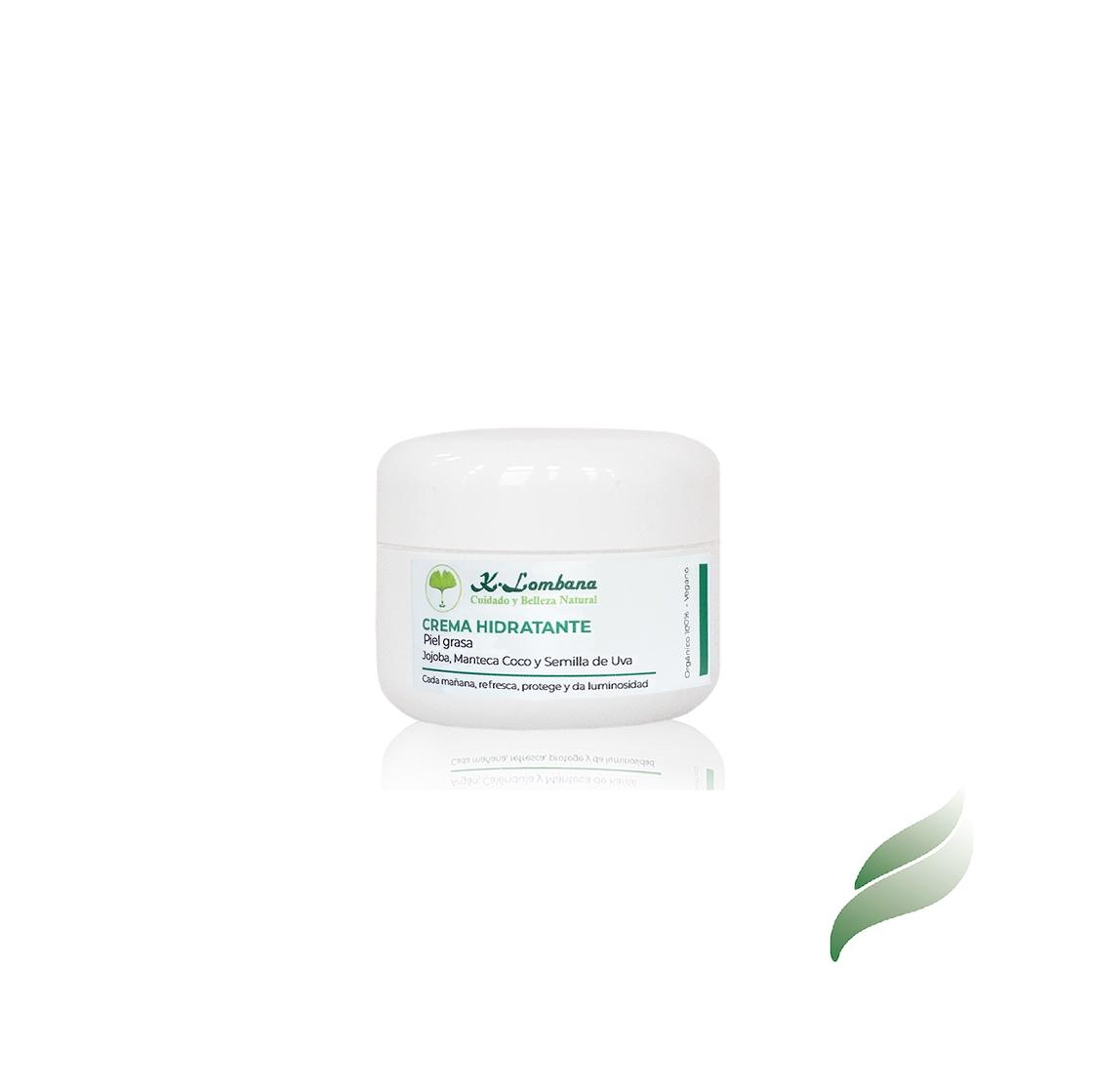 Hidratante piel grasa. Hidrata y nos protege sin taponar sus poros. materias primas naturales 100%