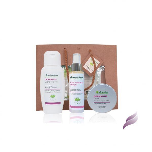 Pack Dermatitis 50ml productos idóneos para mantener, cada día, la piel muy bien hidratada. Hipoalergénicos y sin perfumes sintéticos.