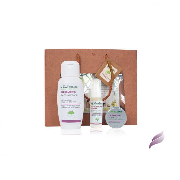 Pack Dermatitis 30ml productos idóneos para mantener, cada día, la piel muy bien hidratada. Hipoalergénicos y sin perfumes sintéticos.